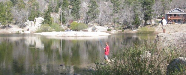 It's been a slow year for me fishing with everything else going on in life. We did get to go out and do a little trout fishing at Arrowbear Lake in the San Bernardino Mountains.