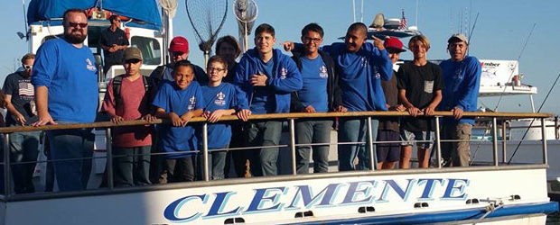 I helped set up a private charter for Troop 863 which my son is part of to get their Boy Scout merit badge. We went out of Dana Harbor Sportfishing on the Clemente on a twilight charter.